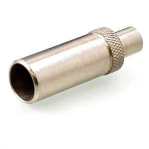 Koax Adapter Stecker 4/13 DIN 47284 auf Buchse 1.6/5.6 DIN 47295