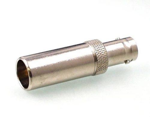 Koax Adapter Stecker 4/13 DIN 47284 auf Buchse BNC 50 Ohm