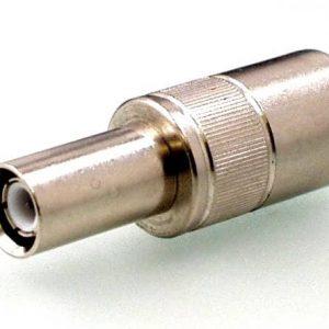 Koax Adapter Stecker 1.6/5.6 DIN 47295 Form B auf Buchse 4/13 DIN 47284