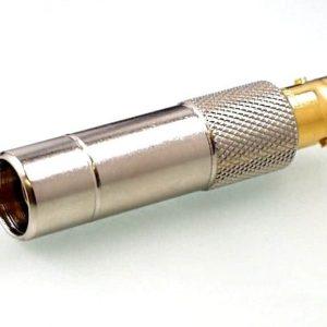Koax Adapter Stecker DS 75 Ohm auf Buchse BNC/DS