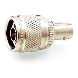 Koax Adapter Stecker N 74 Ohm auf Buchse BNC 75 Ohm