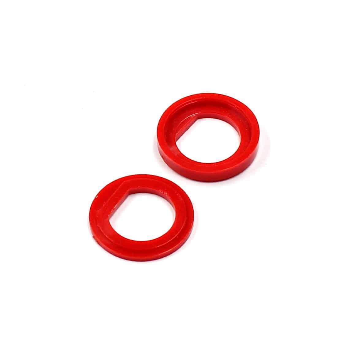 Isolierdurchführung rot / red insulation washer
