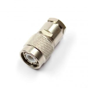 TNC Cable Plug Solder/Clamp connection