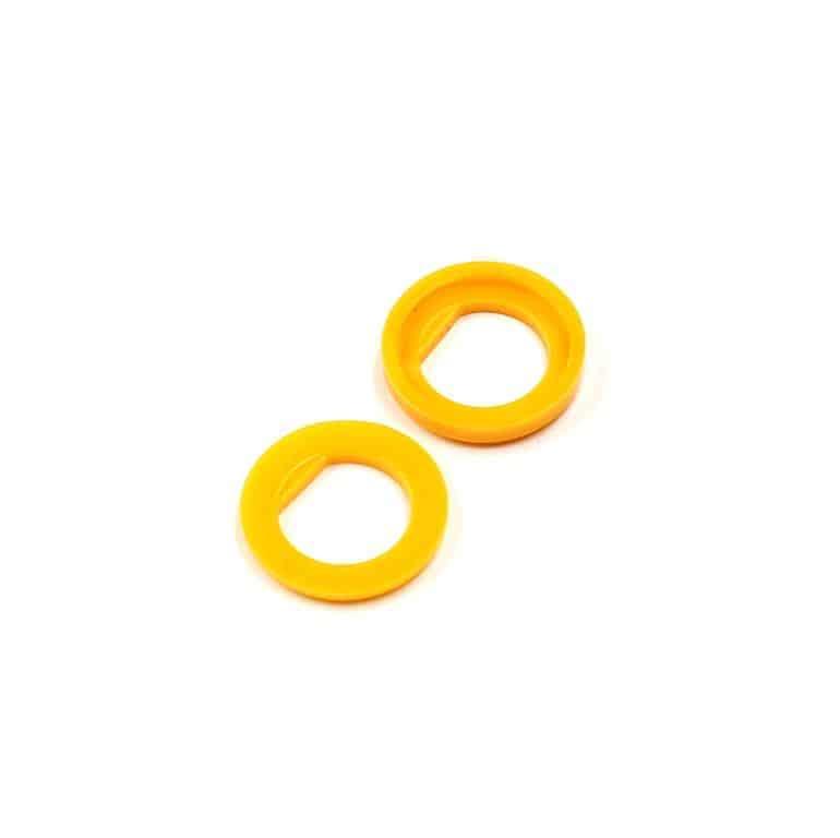 Isolierdurchführung gelb / yellow insulation washer
