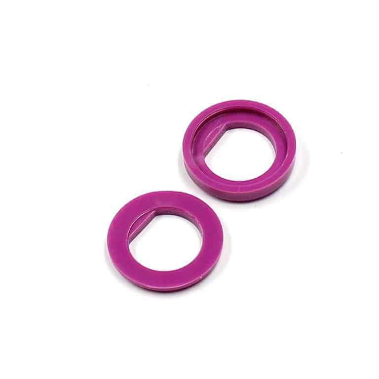 Isolierdurchführung violett / violet insulation washer