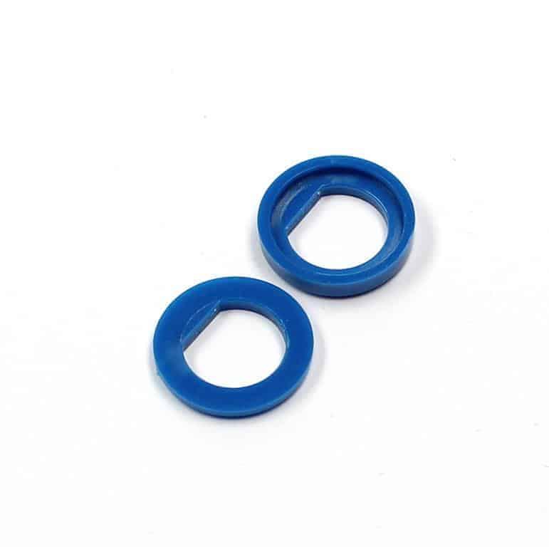 Isolierdurchführung blau / blue insulation washer