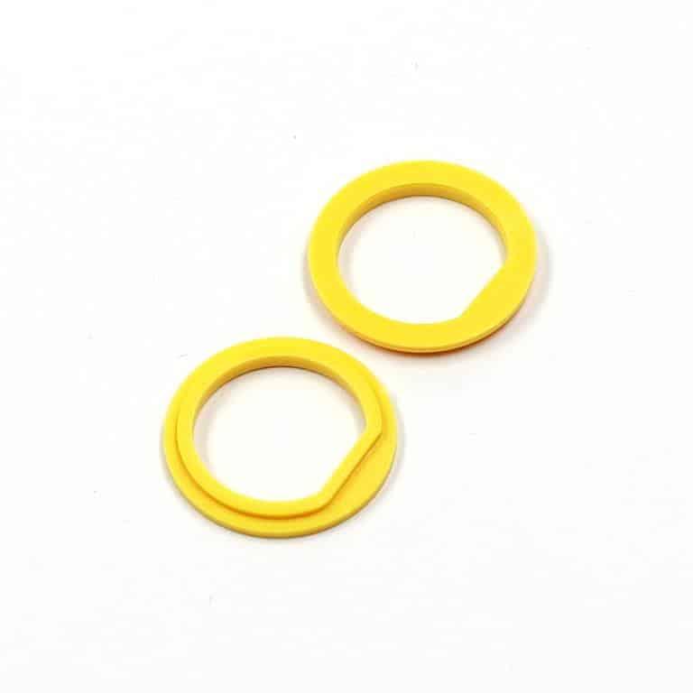 Isolierdurchführung gelb yellow insulation washer