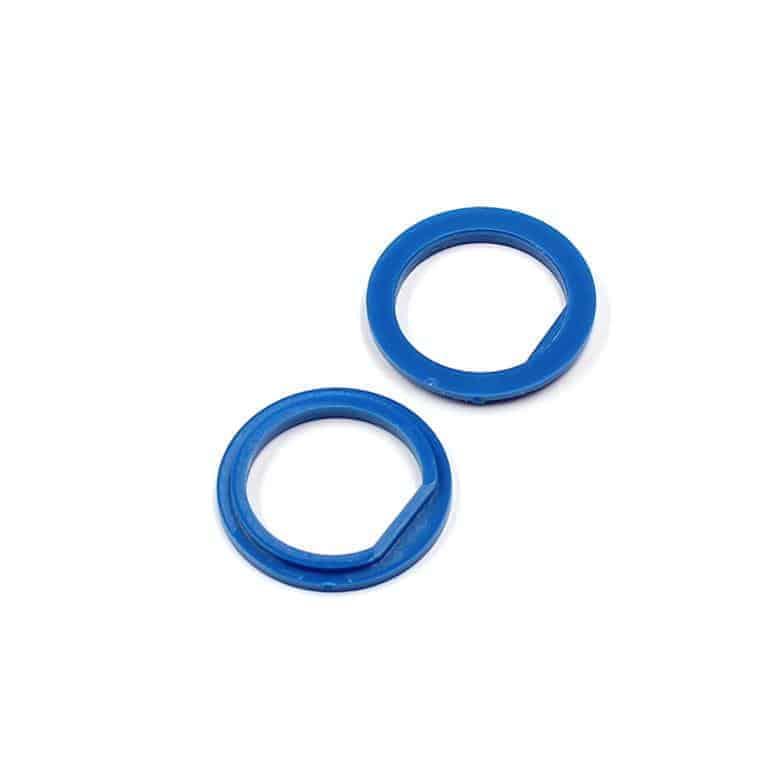 Isolierdurchführung blau blue insulation washer