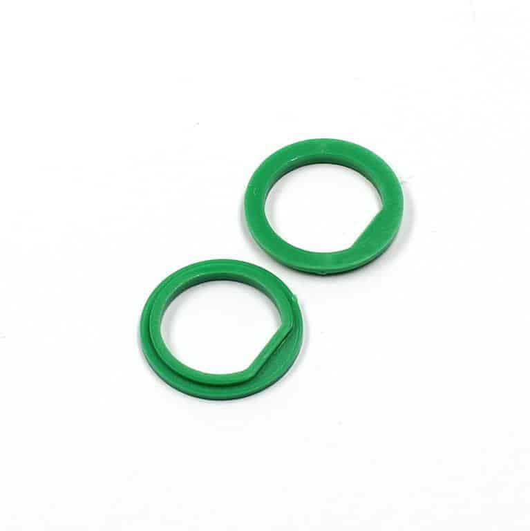 Isolierdurchführung grün / green insulation washer