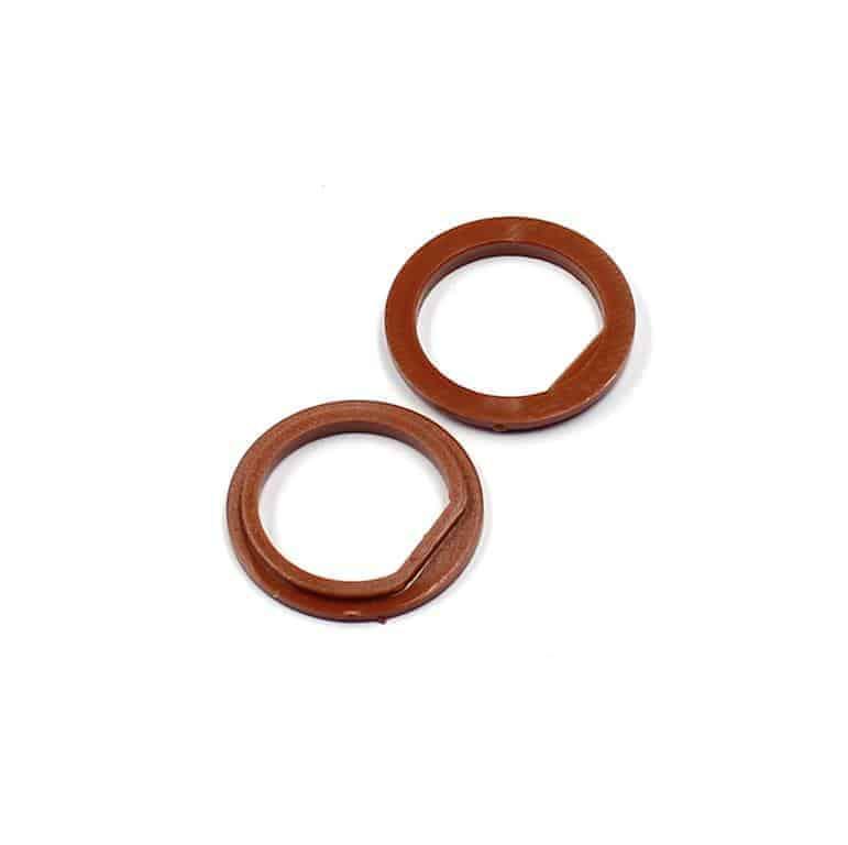 Isolierdurchführung braun brown insulation washer