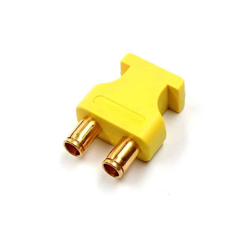 u-link adapter audio triax yellow