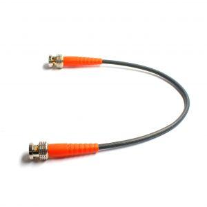 BNCpro Verbindungskabel 0.6/2.8AF HD PRO mit orangen Knickschutztüllen