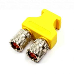 Brückenstecker BNC HD gelb