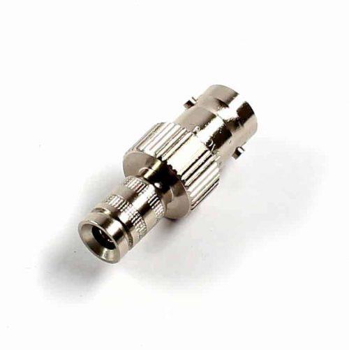 Koax Adapter Stecker DIN 1.0/2.3 auf Buchse BNC 75 Ohm