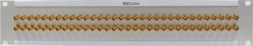 BNCslim Steckfeld Pitch nur 13,5 mm