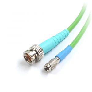 06 28 af frnc adapter-kabel bnc premium stecker auf mini din 1.0 2.3 push pull stecker