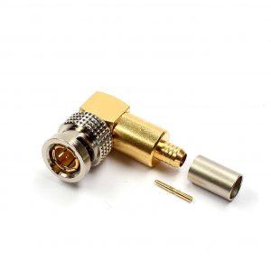 BNCpro Kabelstecker gewinkelt