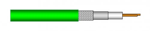 Draka Coaxial Cable 1.2L 4.8Dz DMC Flex PUR
