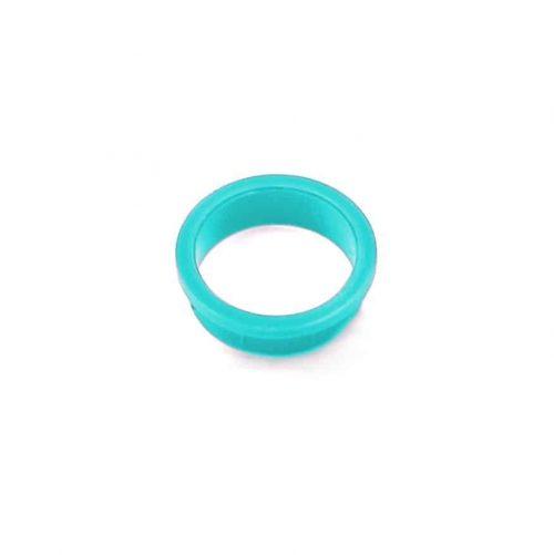 Kennzeichnungsring türkis (cyan) / Coding ring turquoise