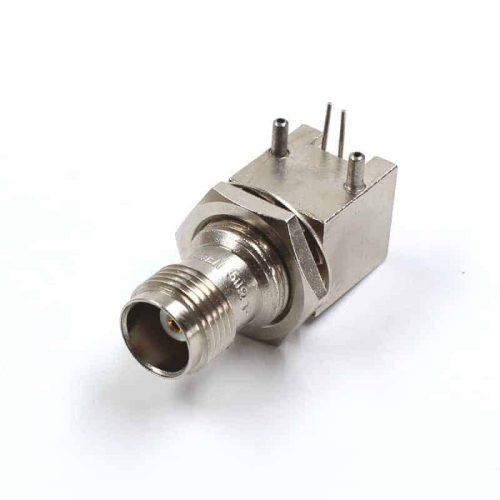 TNC 50 Ohm Gerätebuchse mit Metallsockel