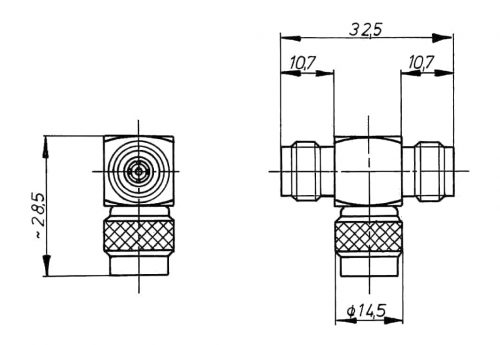 TNC T-Adaptor