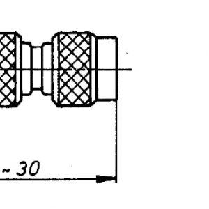 TNC 50 Ohm Kabel-Verbindungsstecker